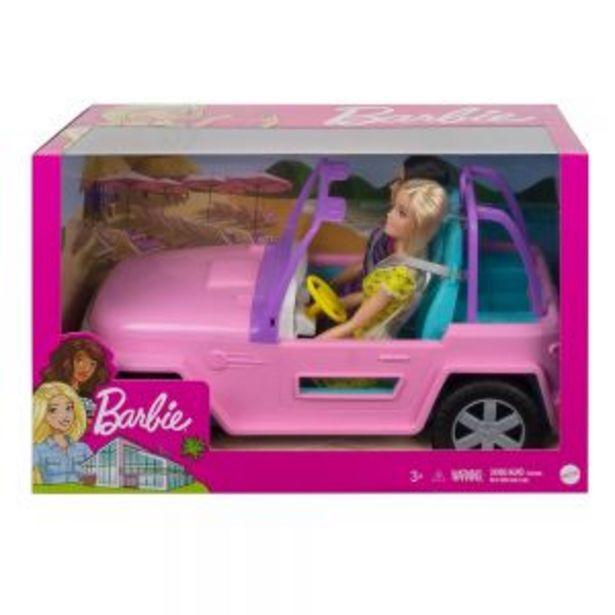 Oferta de Barbie Jeep con Muñeca + Amiga por $699