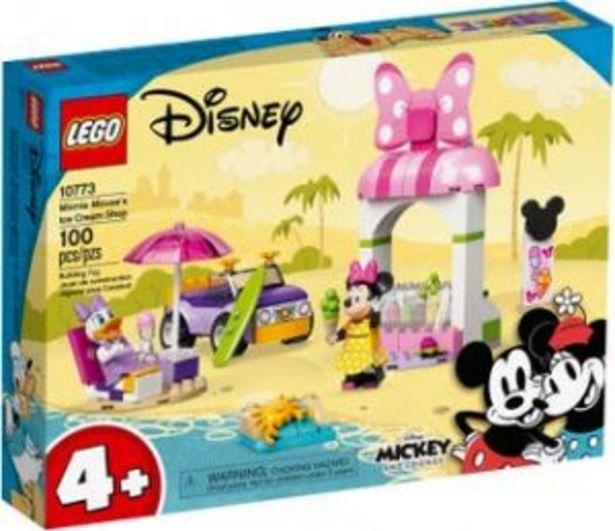 Oferta de Lego Disney Heladería de Minnie Mouse por $549
