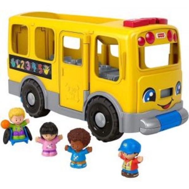 Oferta de Autobús Escolar Grande Little People por $849