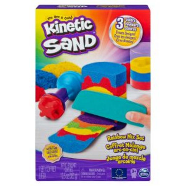 Oferta de Kinetic Sand Set Arcoiris por $349