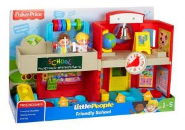Oferta de Fisher Price little people escuela aprende y diviertete por $799