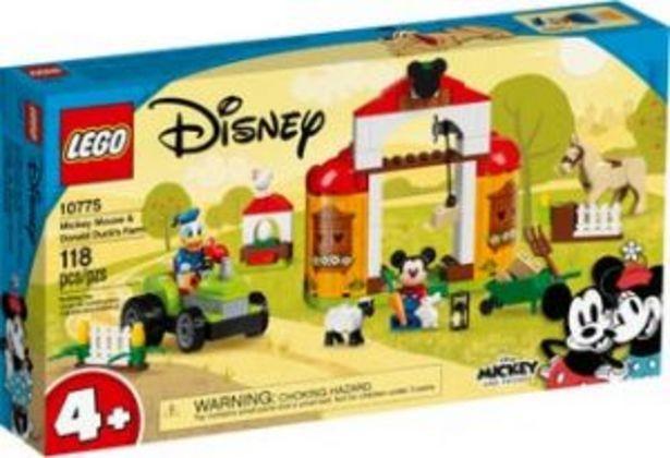 Oferta de Lego Disney Granja de Mickey Mouse y el Pato Donald por $899