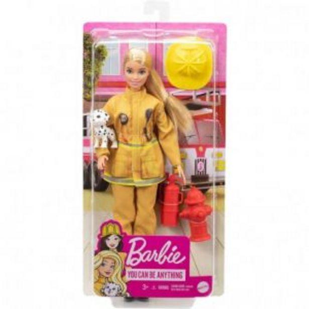 Oferta de Barbie Surtido de Profesiones de Lujo por $369