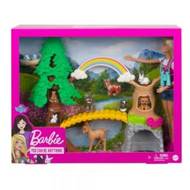 Oferta de Barbie Exploradora Silvestre por $699