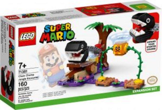 Oferta de LEGO Kit de construcción Super Mario™ Batalla en la Selva contra el Chomp Cadenas por $549