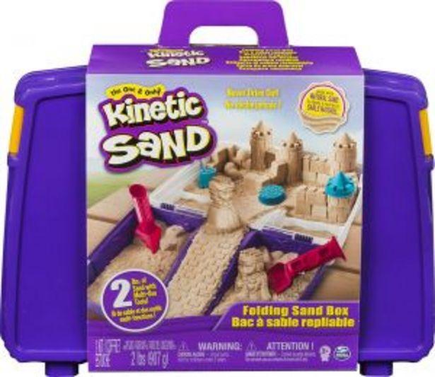 Oferta de KINETIC Sand Caja Plegable Manualidades por $899