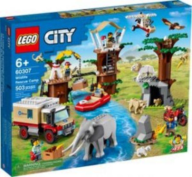Oferta de Lego City Rescate de la Fauna Salvaje: Campamento por $2399