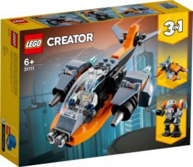 Oferta de Lego creator Ciberdrón por $289