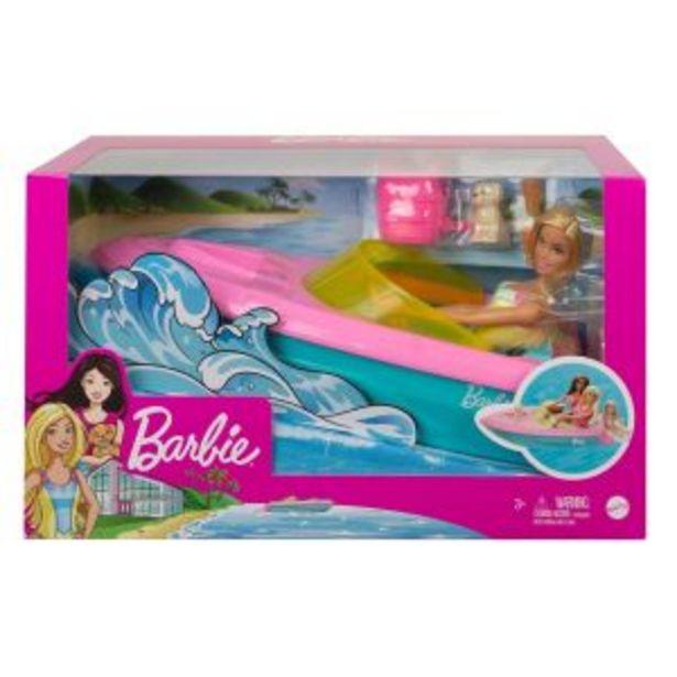 Oferta de Barbie Estate Lancha con muñeca por $569