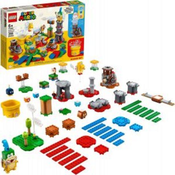 Oferta de LEGO Kit de construcción Super Mario por $1649