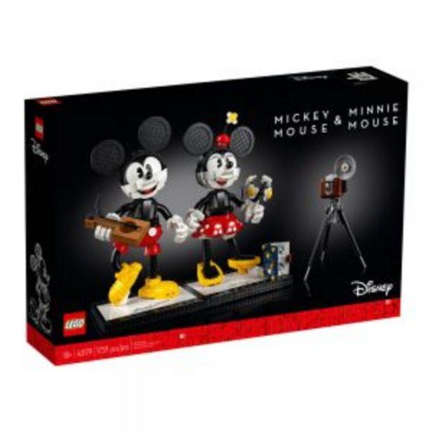 Oferta de Lego Disney Personajes Construibles: Mickey Mouse y Minnie Mouse por $4899