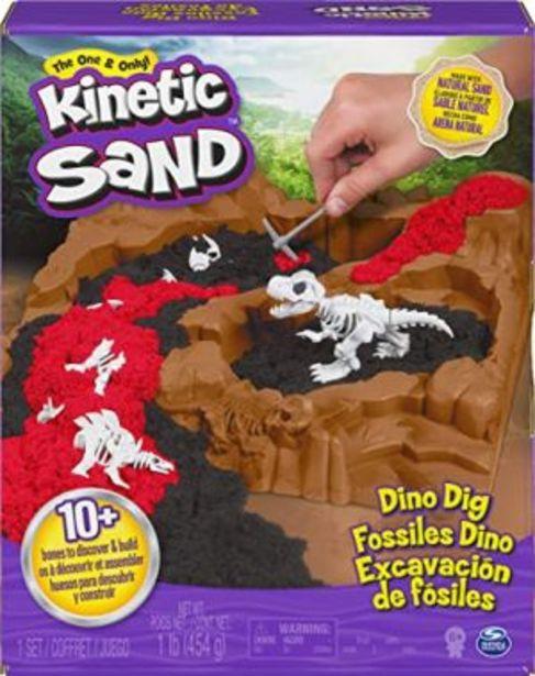 Oferta de Kinetic sand dinosaurios SET DE EXCAVACION por $539