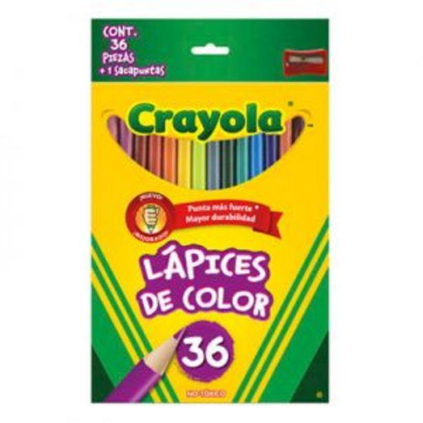 Oferta de 36 Lápices de Color Crayola por $249