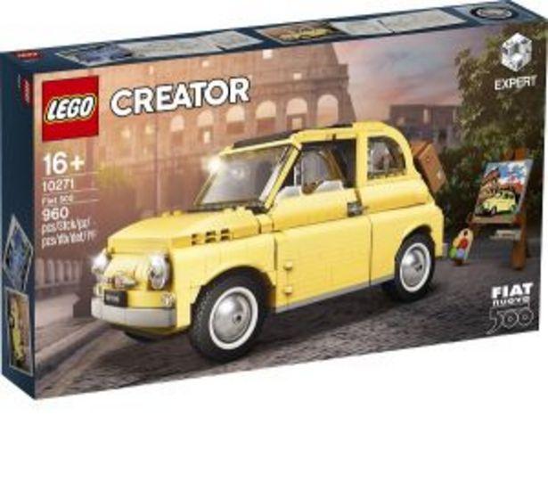 Oferta de Lego Creator Fiat 500 por $2099