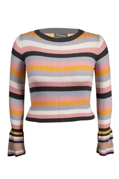 Oferta de Suéter a rayas manga larga por $80