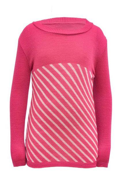 Oferta de Suéter con diagonales para niña por $80