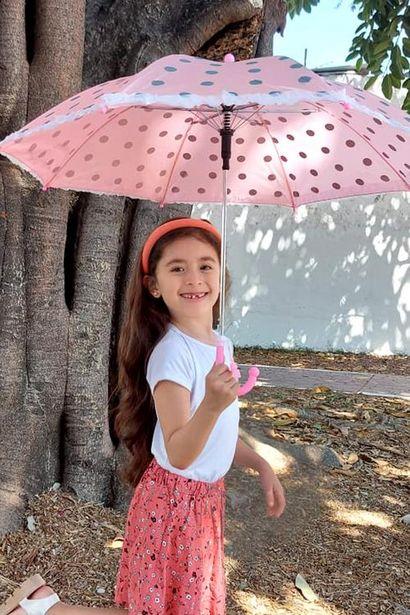 Oferta de Paraguas puntos para niña por $50
