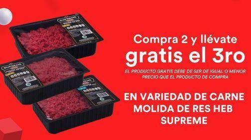 Oferta de Carne Molida Heb Supreme  por