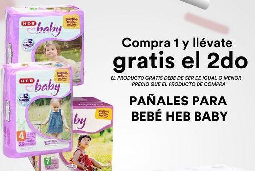 Oferta de Pañales para Bebe Heb Baby  por