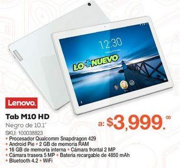 Oferta de Tab M10 HD por $3999