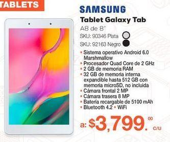Oferta de Tablet Galaxy Tab por $3799