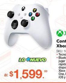 Oferta de Control Inalámbrico Robot White / Xbox Series / Xbox One / Blanco por $1599