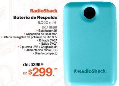 Oferta de Power Bank RadioShack YF92  por $299