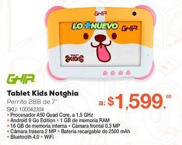 Oferta de Tablet Ghia Kids Notghia por $1599