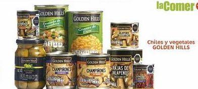 Oferta de Chiles y vegetales Golden Hills por