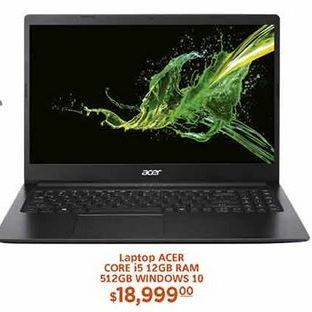 Oferta de Laptop Acer por $18999