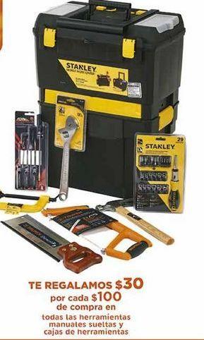 Oferta de Herramientas manuales, sueltas y cajas de herramientas por
