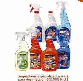 Oferta de Limpiadores especializados y srt. para desinfección Golden Hills por