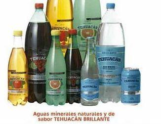 Oferta de Aguas minerales naturales y de sabor Tehuacan Brillante por