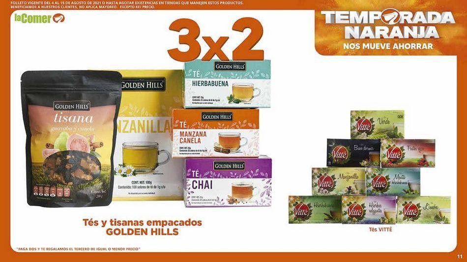 Oferta de Té Golden Hills por