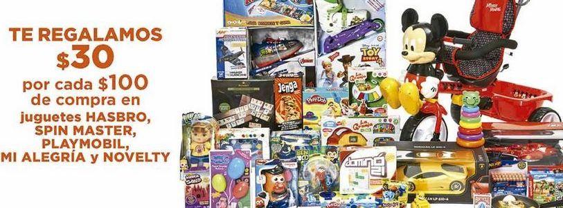 Oferta de Juguetes Hasbro, Spin Master, Play Mobil, Mi alegria y Novelty por