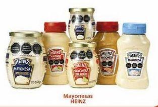 Oferta de Mayonesa Heinz por