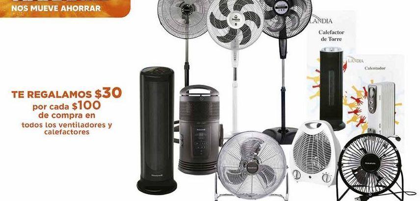 Oferta de Todos los ventiladores y calefactores por