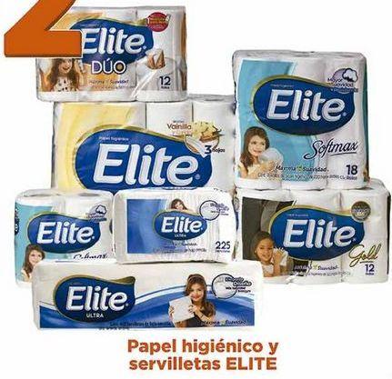 Oferta de Papel de baño y servilletas Elite por