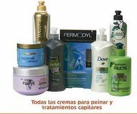 Oferta de Todas las cremas para peinar y tratamientos capilares por