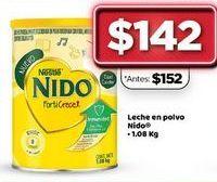 Oferta de Leche en polvo Nido 1.08 kg  por $142