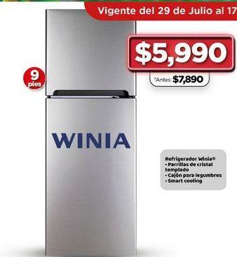 Oferta de Refrigerador Winia  por $5990