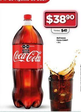 Oferta de Refresco Coca-Cola 3 L  por $38.9