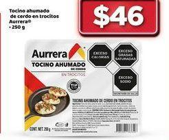 Oferta de Tocino ahumado Aurrera por $46