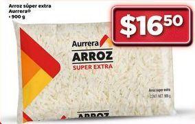 Oferta de Arroz Aurrera por $16.5