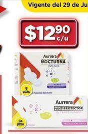 Oferta de Toallas femeninas Aurrera por $12.9