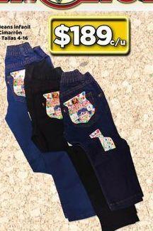 Oferta de Jeans Infantil Cimaron  por $189