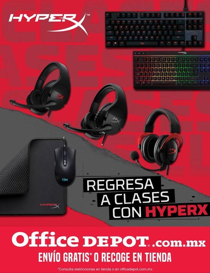 Oferta de Regresa a Clases con Hyperx por