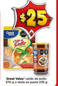 Oferta de Caldo de pollo Great Value por $15