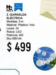 Oferta de Guirn Elect Led 24L Bola Bca por $499