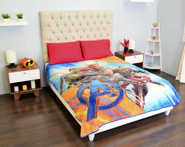 Oferta de Cobertor Tersupiel Matrimonial Avengers por $235